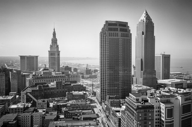 Downtown Cleveland - The 391 Foot View