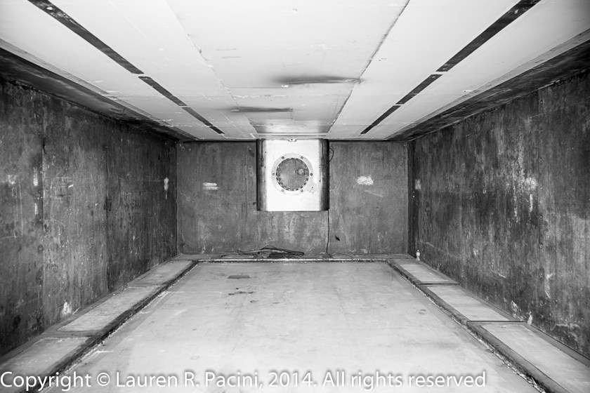 Vault after Removal of the Safety Deposit Boxes