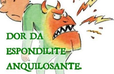 Dor da Espondilite Anquilosante, arde, queima, artormenta e tira o sossego da gente, só sabe como é quem tem! Faça sua parte e controle a #EA