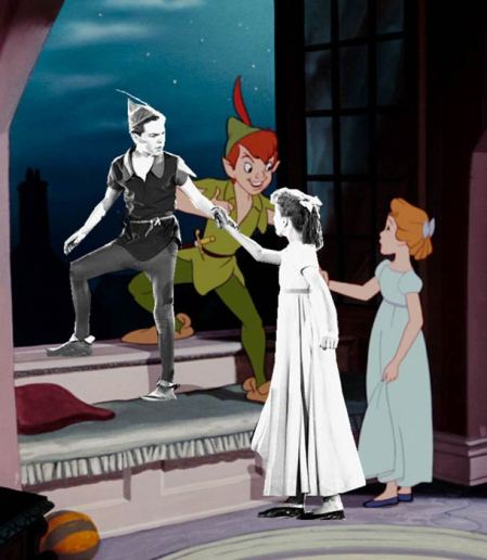 Example of models and resulting animation for Disney's Peter Pan