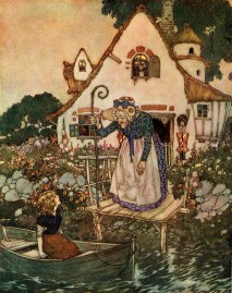 Edmund_Dulac_-_The_Garden_of_the_Woman_Learned_in_Magic