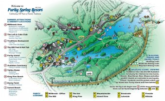Hiking Map with detailed illustration - Draw!