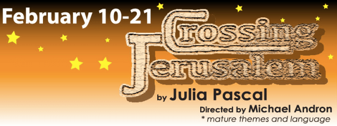 Crossing Jerusalem logo