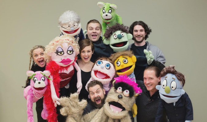 Avenue Q at Warsaw Federal Incline Theater (photo by Jennifer Perrino)