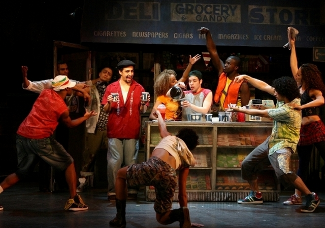 In The Heights on Broadway (photo by Joan Marcus)