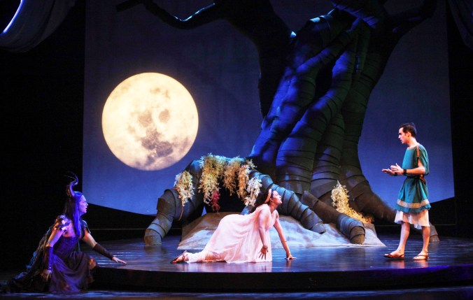 """""""A Midsummer Night's Dream"""" at Trinity Shakespeare Company (photo by Amy Peterson)"""