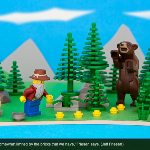 Photographer Maps Canada, In Lego Form