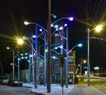 Protests Over Light Installation In Toronto