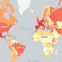 Where All The World Heritage Sites Are (By The Numbers)