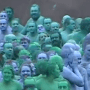 Thousands Of People Strip Naked And Paint Themselves Blue (For Art)