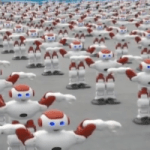 So This Is A Thing Now? 1000 Robots Break Record For Synchronized Dancing