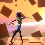 There's A New Video Game Starring A Ballet Dancer Pirouetting Through A World Inspired By Abstract Art