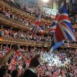 On The Final Night Of the BBC Proms, Pro-European Union Campaigners Hand Out Thousands Of EU Flags