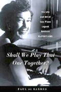 Book: Paul de Barros on Marian McPartland