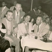 Sarah Vaughan And Joe Louis In Chicago