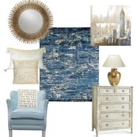 Living Room Design Ideas & Kalaty Rugs {plus a Giveaway!}