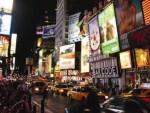 """Saturday night at Times Square"""