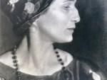 Moisei Nappelbaum. The Poet Anna Akhmatova, 1924. Gelatin silver print. Collection of Alex Lachmann