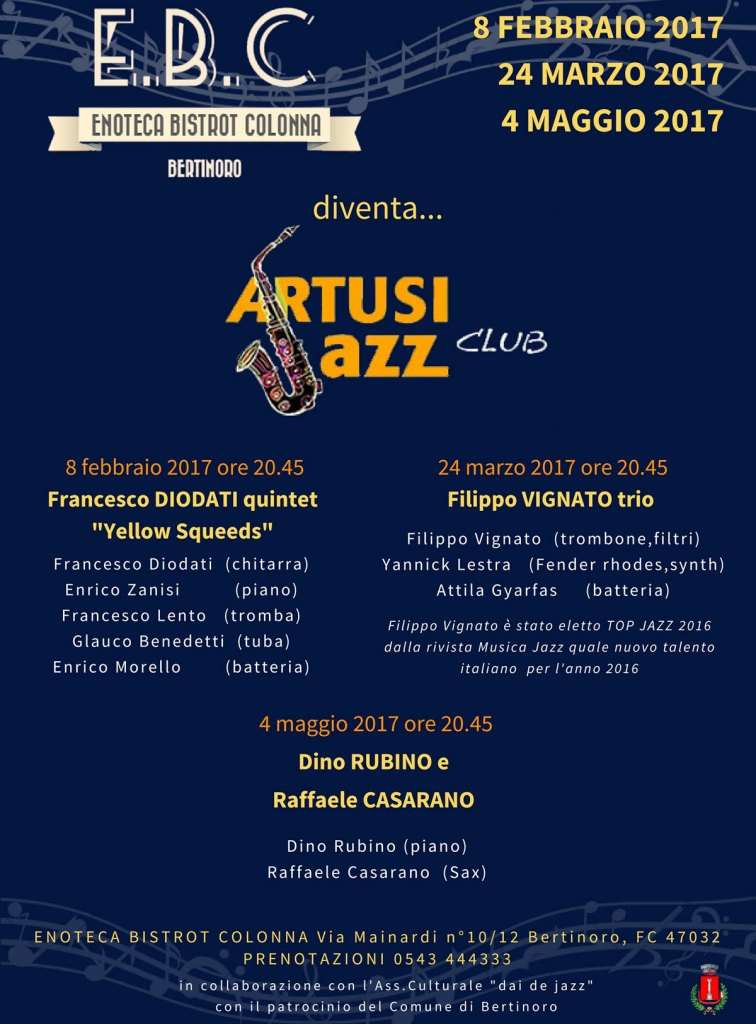 artusi jazz club Enoteca Bistrot Colonna