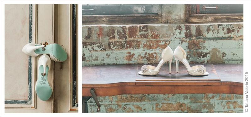 Wedding Shoes Shot The Metropolitan Building