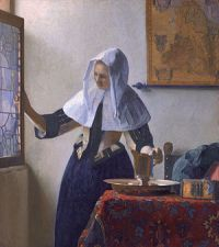 Jan_Vermeer_van_Delft_019 Girl with Pitcher