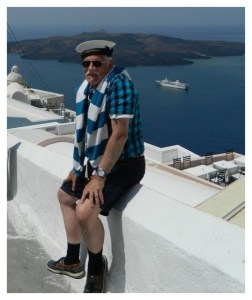 Richard Vallanc Santorini Greece May 2012