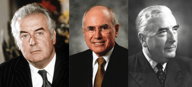 What would Menzies, Howard and Whitlam have done?