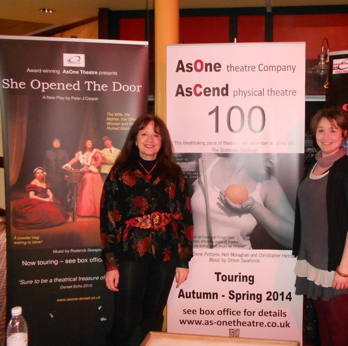 Jane and Jackie at the W & PBC Leisure and Tourism Fair March 2013