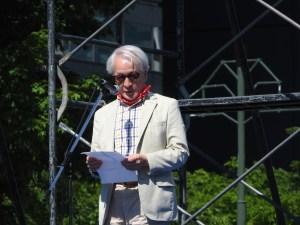 結城洋一郎さん(小樽商科大学)「我が国始まって以来とも言うべき多様な人々が連帯している、私たちはあきらめない」
