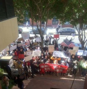Kimmel Protest