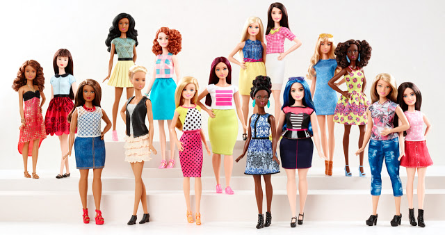 New realistic line of Barbies
