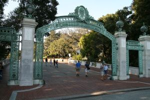 Sather Gate at the University of California at Berkeley
