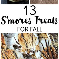 13 S'mores Treats for Fall