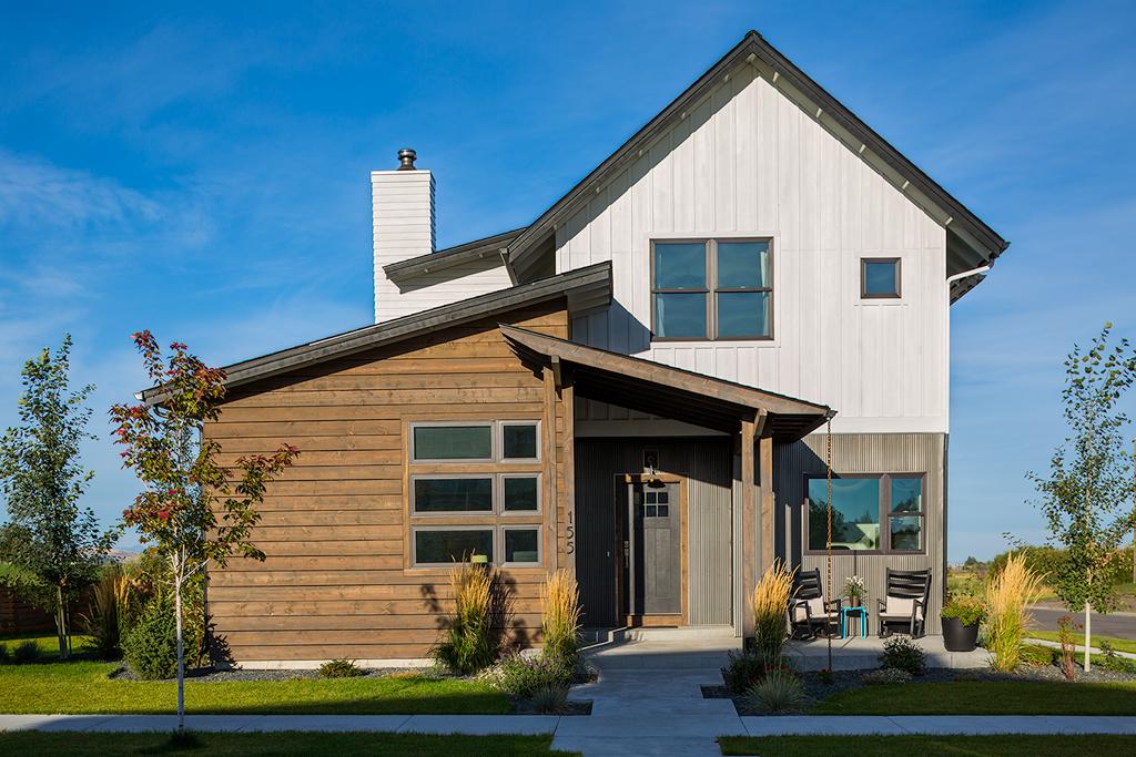 Ascent home builders bozeman mt cascade street house for Cascade house