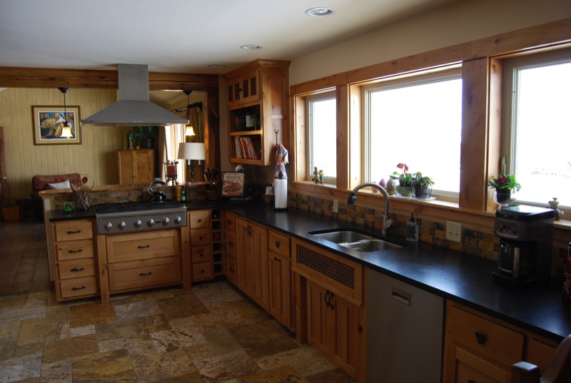Ascent Home Builders – Bozeman, MT » Rustic Kitchen Remodel