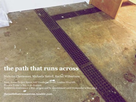 The Path That Runs Across_Postcard