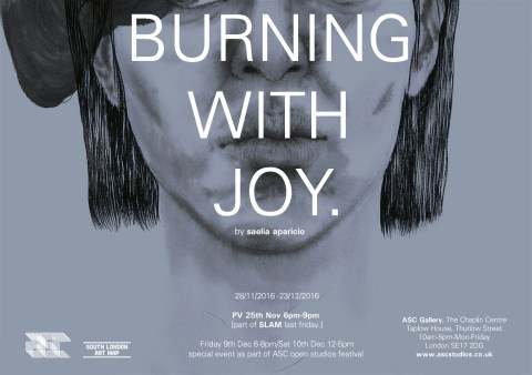 Burning with Joy /Saelia Aparicio