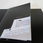 The Letter Pictures /Booklet for Future Refrains by Lindsay Seers
