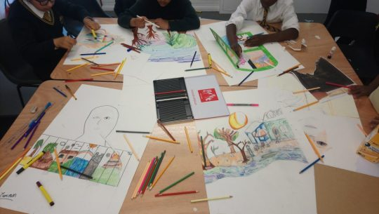 Workshops with Arc Globe & Surrey Square