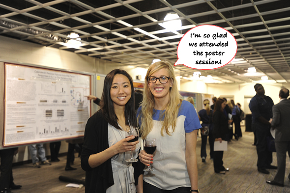 AS poster session