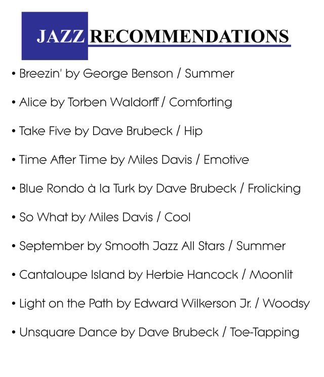 Jazz Recommendations From Ashlee Craft