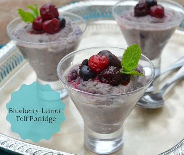 Blueberry-Lemon Teff Porridge-title