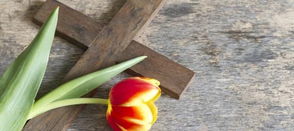 Cross & Flower