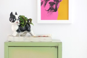 diy pet portrait art