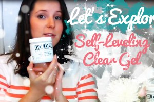 how to use self leveling clear gel