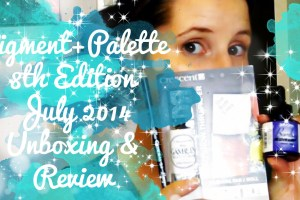 pigment+palette monthly box subscription review