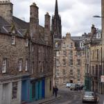 Edinburghs Old Town on this dreary day