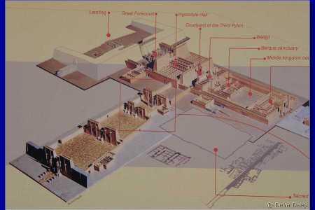 Map Of Karnak Temple - Map of egypt karnak