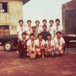 북한 은덕군 여자축구 선수들의 씩씩한 모습. 촬영 1993년 7월 (아시아프레스)