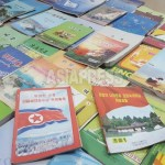 Secretly carried out textbooks for middle and high school of North Korea